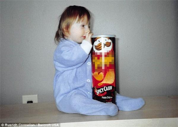 Kenadie khi được 1 tuổi.