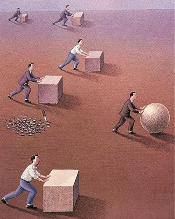 Giữa một môi trường ai cũng giống ai, mạnh dạn thay đổi sẽ giúp bạn vượt qua đối thủ nhờ sự khác biệt. (Ảnh: Internet)