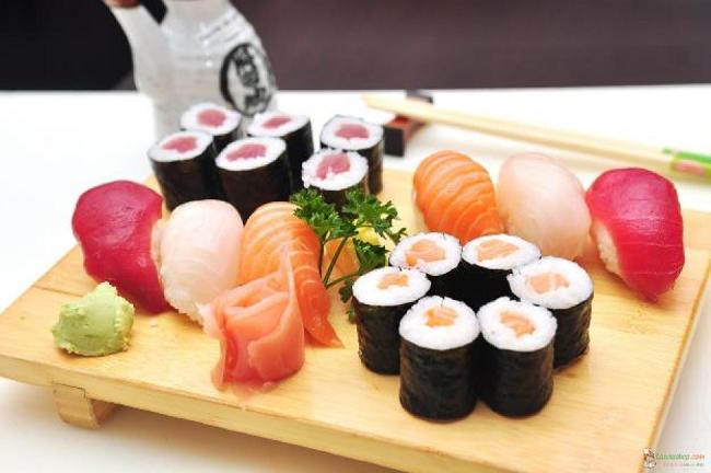 5 màu chủ đạo của ẩm thực Nhật đại diện cho ngũ hành.