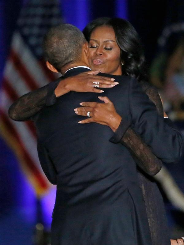 Obama dành những lời lẽ đầy trìu mến dành cho vợ.
