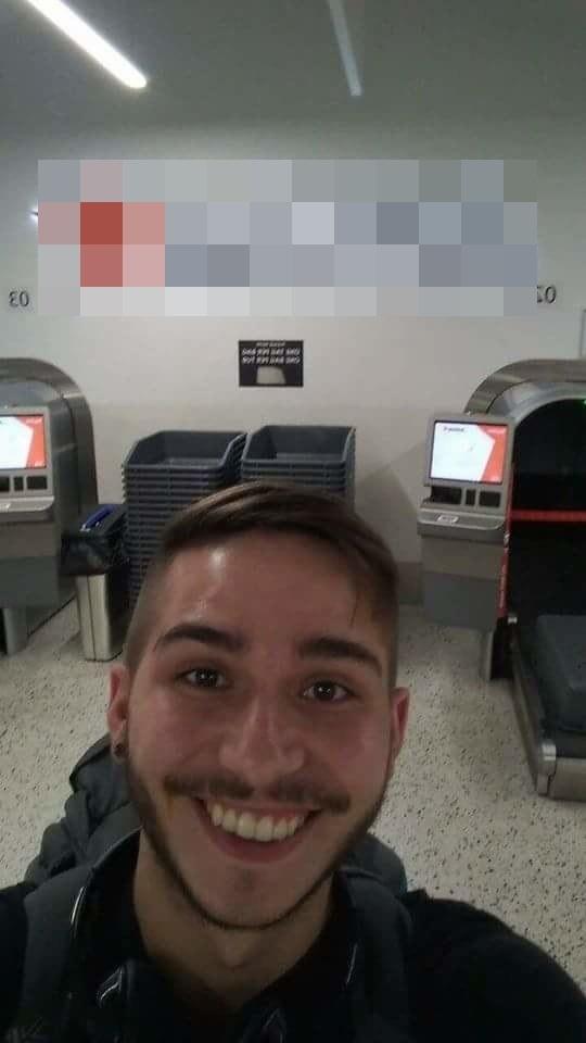 Và rồi chàng Sam người Anh lên đường đến Úc.(Ảnh: Daily Mail)