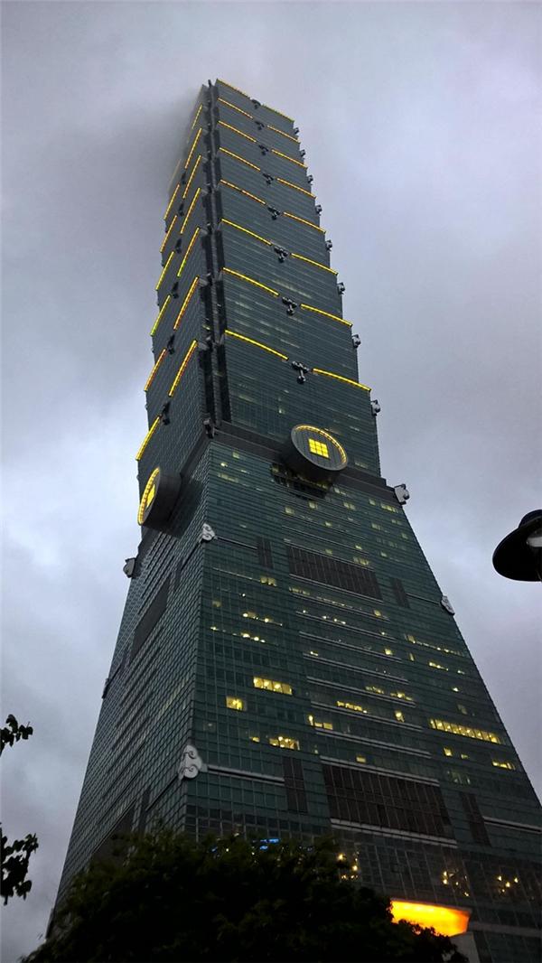 Tòa nhà 101 tầng ở Đài Bắc. (Ảnh: internet)