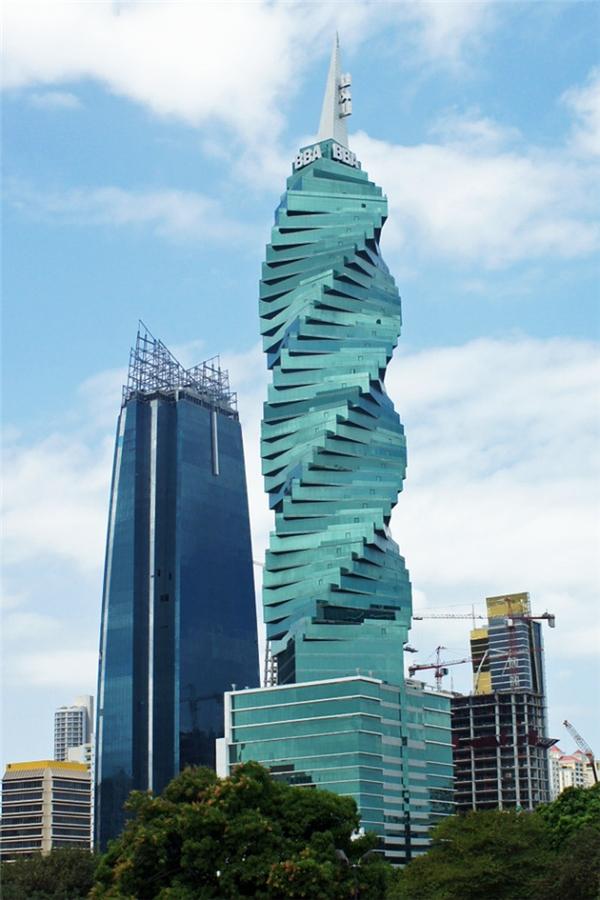 Tòa tháp F&F, thành phố Panama, Cộng hòa Panama. (Ảnh: internet)
