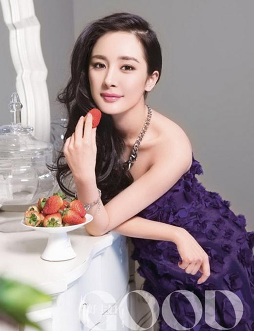 Không thua kém trong bảng xếp hạng, bà xã của Lưu Khải Uy cũng giành được nhiều sự yêu mến về sắc đẹp của dân tình khi ưu ái cô ở vị trí thứ hai.