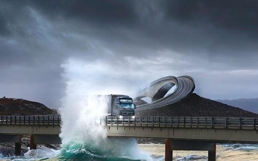 Con đường nguy hiểm tại Na Uy này khiến nhiều du khách bị mê hoặc bởi khung cảnh kỳ vĩ mà thiên nhiên ban tặng.