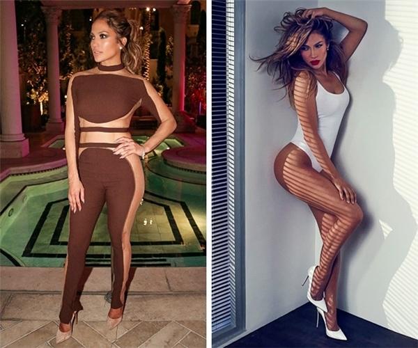 """Jennifer Lopez, 47 tuổi: """"Tôi không muốn đánh mất chỉ số hình thể của mình bởi thực phẩm và tôi luôn tự nhắc bản thân về tầm quan trọng của lối sống lành mạnh. Điển hình như việc tôi luôn tiêu thụ những bữa ăn nhẹ nhàng với nhiều trái cây và rau xanh""""."""