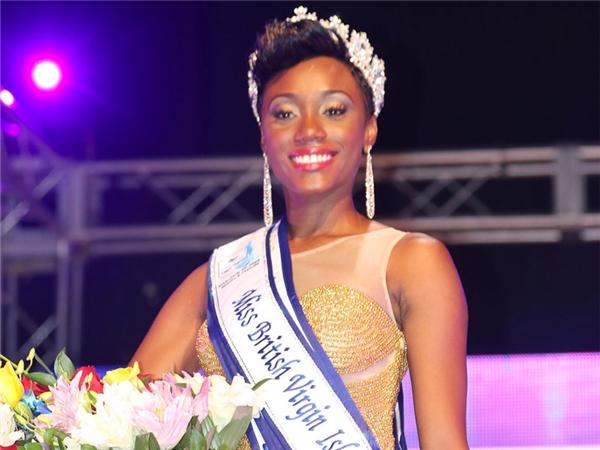 Đại diện British Virgin Islands có nhan sắc được đánh giá không phù hợp với tiêu chí của Hoa hậu Hoàn vũ.