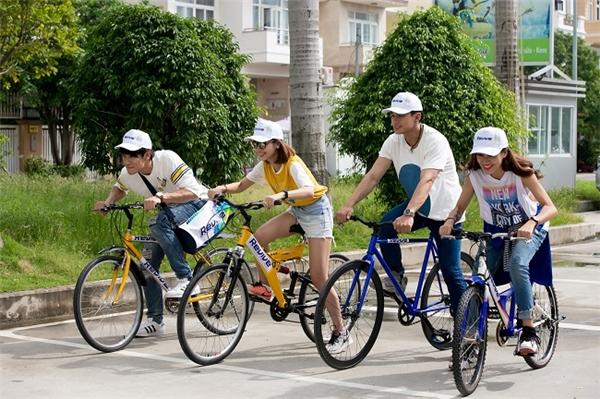 """Khám phá Sài Gòn bằng xe đạp là một điều """"nên thử một lần trong đời""""."""