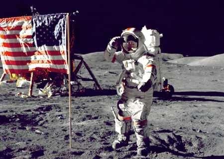Gene Cernan từng là một biểu tượng của NASA. (Ảnh: internet)
