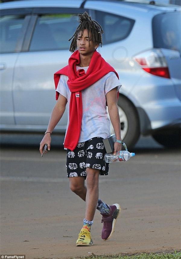 Vẻ ngoài trưởng thành, phong cách của Jaden Smith.