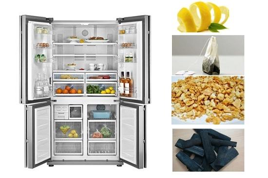 Bí quyết khử mùi hôi tủ lạnh hiệu quả.