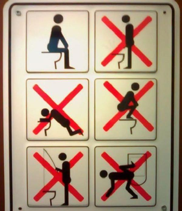Cấm làm những hành động ngớ ngẩn này