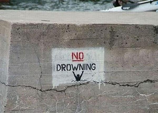 Cấm chết đuối