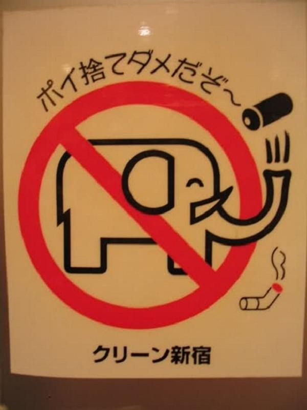 Cấm cho voi hút thuốc