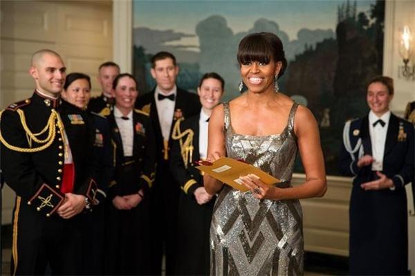 Bà Michelle là người tuyên bốgiải Phim xuất sắc nhất tại lễ trao giải Oscar lần thứ 85.