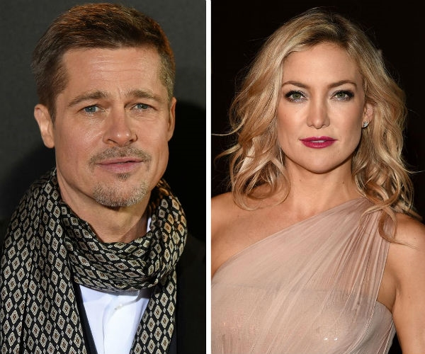 Brad Pitt bị đồn đang sống chung với Kate Hudson.