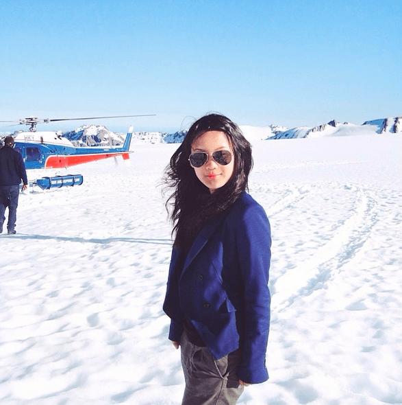 Dù có là Nam cực thì cũng không thể ngăn cản bước chân củaJaime Lo -con gái duy nhất của một tài phiệt ngành dầu mỏ của Singapore.