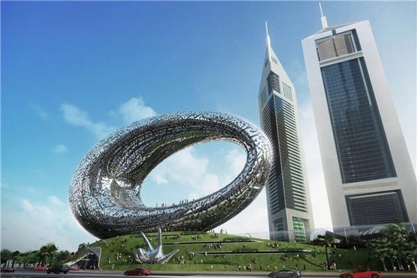 Tòa nhà xây dựng bằng công nghệ 3D chính thức được khai trương ở Dubai. (Ảnh: internet)