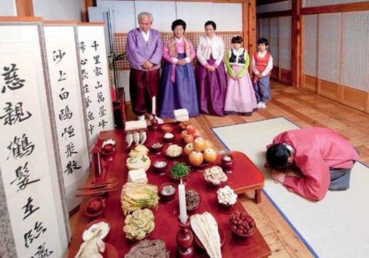 Lễ Chesa của người Hàn Quốc.