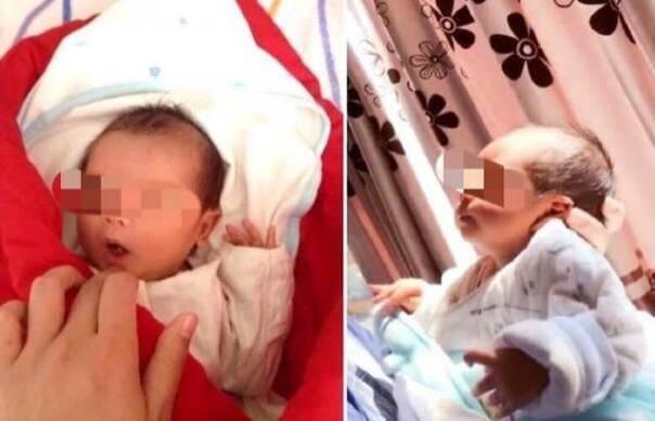 Lộ ảnh chụp cận mặt của con trai Huỳnh Hiểu Minh - Angela Baby?