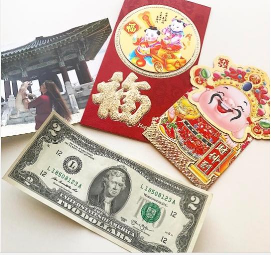 Nếu muốn cầu mong may mắn, tài lộc thì nên lưu ý cho vào phong bao tiền chẵn nhé. (Ảnh: Instagram/imeu)