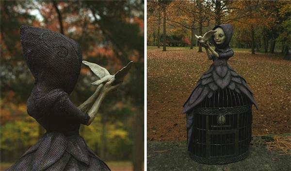 Bạn có tin đây là những bức tượng không?