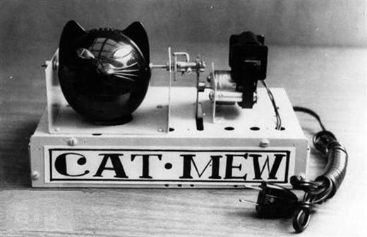 Một phát minh khác nhằm đối phó với sự hoành hành của những con chuột phá phách.