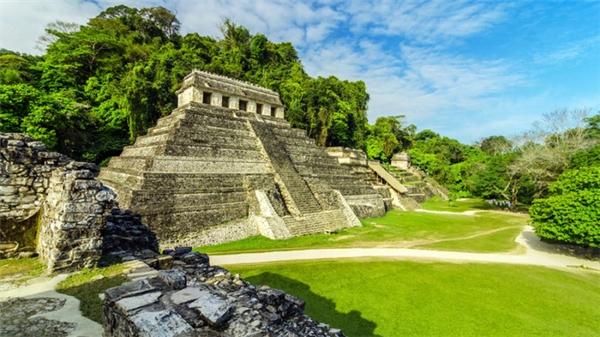 Đền thờ Inscriptions ở Mexico - ngôi đền của những câu khắc.