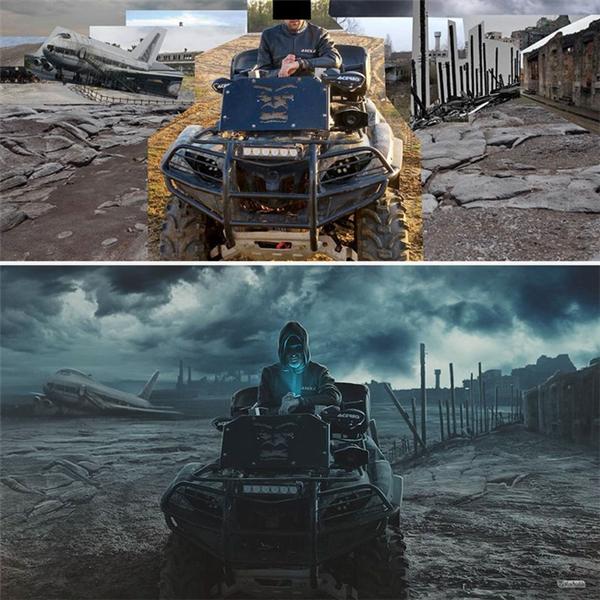 Không chỉ có diện mạo của nhân vật chính mà khung cảnh xung quanh cũng được biến đổi hoàn toàn.