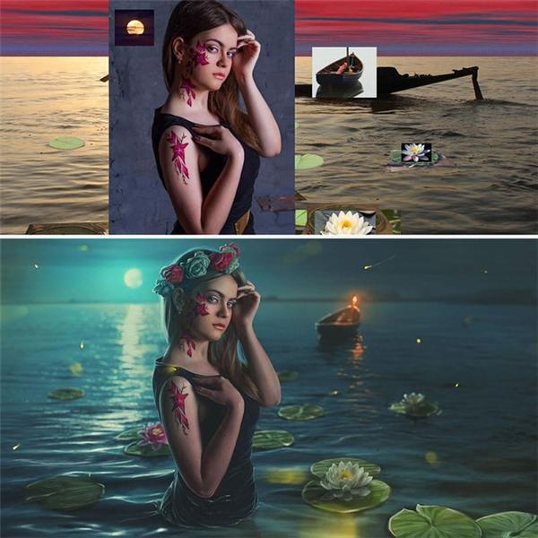 Những tác phẩm đẹp như tranh vẽ.