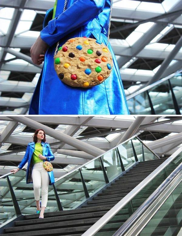 Không phải bánh ngọt, đây là túi xách cả đấy!