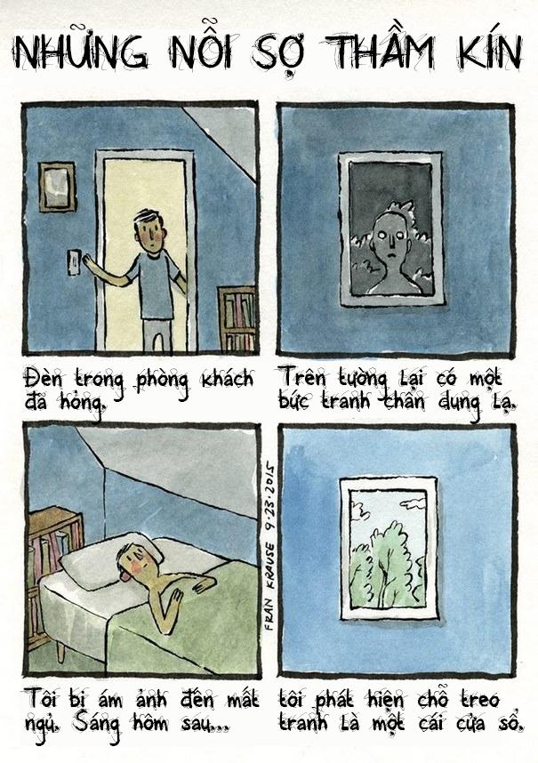 Có lẽ chính vì lý do này mà không ít người đã quyết định che rèm mọi cửa sổ trong nhà, đồng thời hạn chế treo tranh chân dung đến mức tối đa.