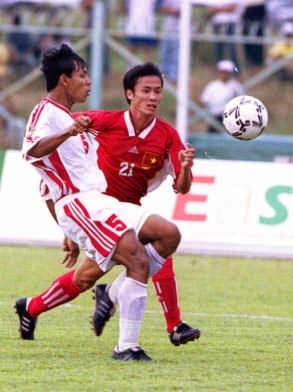 Cầu thủ Đặng Phương Nam.