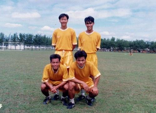4 cầu thủ của CATPHCM tại Sea Games 18: Huỳnh Đức, Minh Chiến, Chí Bảo và Liêm Thanh.