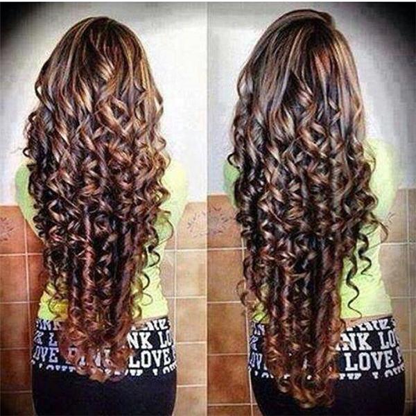 Bạn có bao giờ tự hỏi nếu những mãi tóc xoăn này được duỗi ra thì độ dài của chúng sẽ tới đâu không?