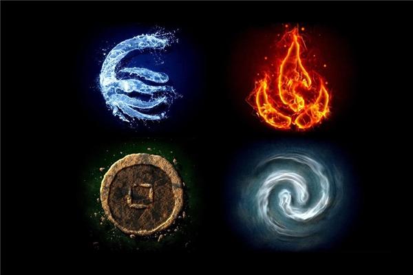 Số 4 còn được hiểu như 4 nguyên tố đất - khí - nước - lửa.