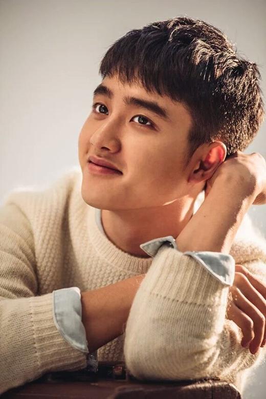 D.O. là gương mặt ca sĩ kiêm diễn viên tiềm năng trong làng giải trí Hàn Quốc.