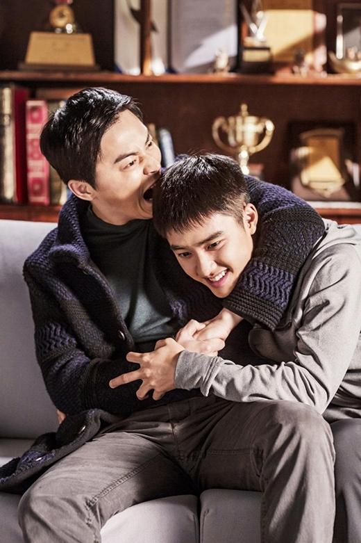 """""""Hai anh em"""" Jo Jung Suk và D.O."""