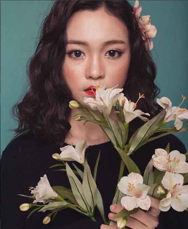 """Cô nàng chính là một trong những gương mặt """"sáng giá"""" của làng hot teen Việt tương lai."""