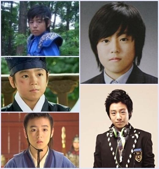 Lee Hyun Woo lúc là diễn viên nhí.