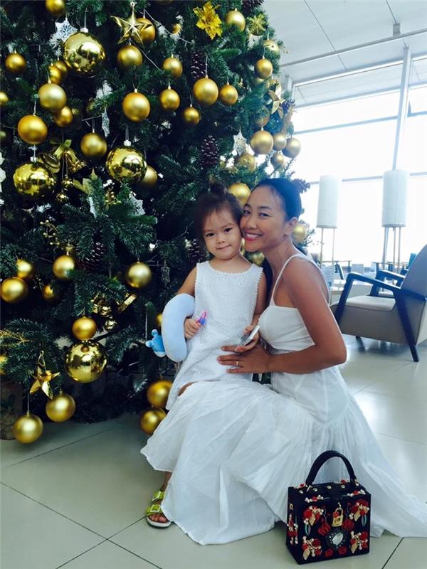 Con gái Đoan Trang đã lớn và