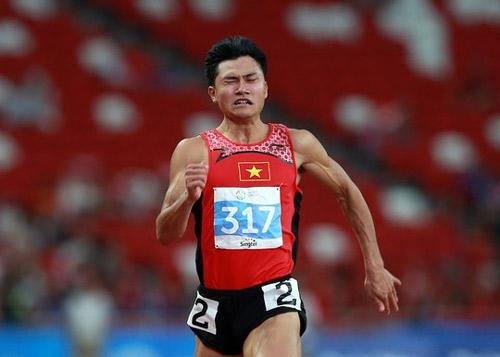 """""""Vua tốc độ"""" của điền kinh Việt Nam sẽ vắng mặt tại SEA Games 28 vào tháng 8 sắp tới."""