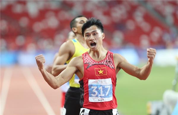 Lê Trọng Hinh là một hiện tượng của điền kinh Đông Nam Á kể từ SEA Games 2015.