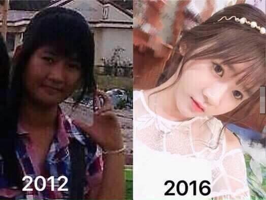 4 năm, chỉ 4 năm thôi mà bạn ấy đã thay đổi đếnthế này.