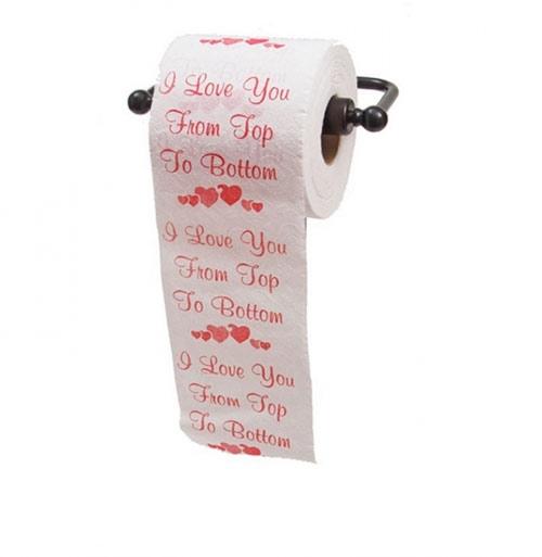 Cả giấy vệ sinh cũng là một cách tỏ tình đấy nhé.