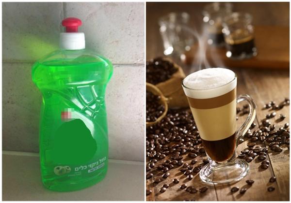 Dùng xà phòng để tạo bọt. Trong các quảng cáo sữa, cà phê… người ta thường dùng xà phòng để ly nước sủi bọt trông bắt mắt.