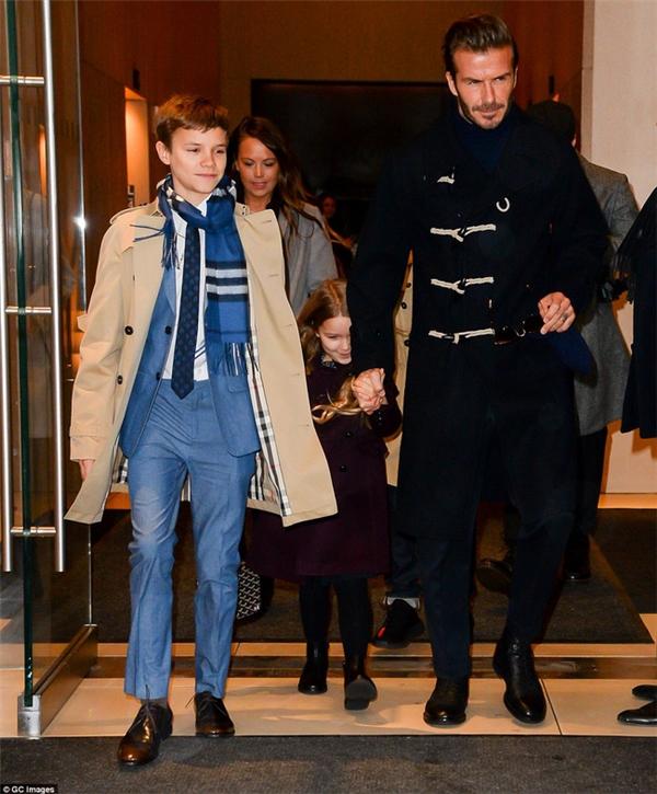 David Beckham vô cùng lịch lãm, cuốn hút.