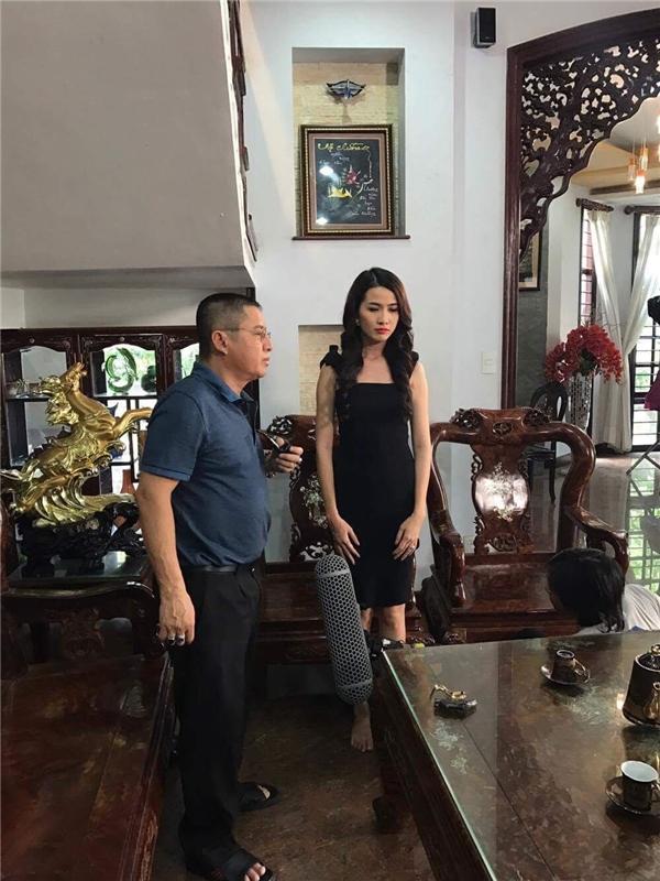 Phan Thị Mơ bất ngờ gặp tai nạn trên phim trường - Tin sao Viet - Tin tuc sao Viet - Scandal sao Viet - Tin tuc cua Sao - Tin cua Sao