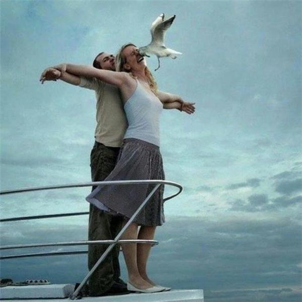 Titanic cảnh lãng mạn trên biểnphiên bản lỗi (phần 1).