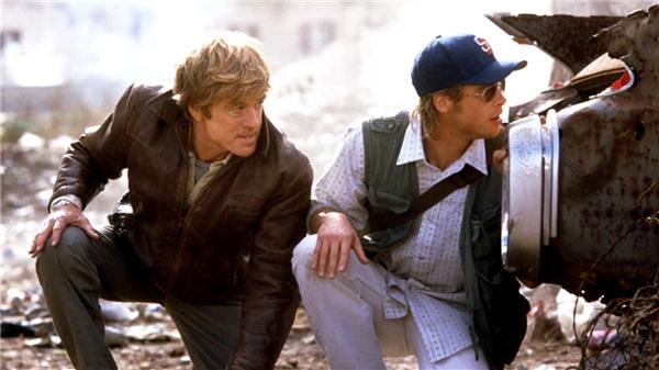 Spy Gamecó sự tham gia của ngôi sao gạo cội Robert Redford và tài tử Brad Pitt.
